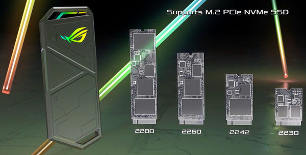 STRIX ARION، محفظه درایو SSD ایسوس