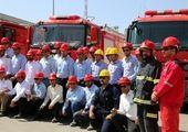 مانور منطقه ای اطفاء حریق در شرکت پتروشیمی پارس برگزار شد
