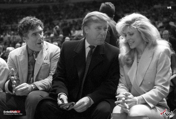دونالد ترامپ ۲۷ سال پیش + عکس