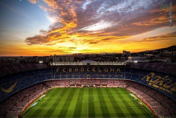 نمایی زیبا از ورزشگاه نیوکمپ+عکس