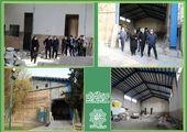 آماده سازی نخستین سوله ورزشی محله مظاهری منطقه15
