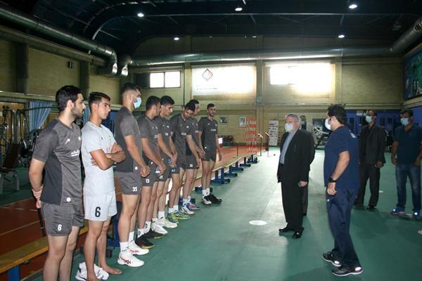 پیگیری تمرینات تیم ملی والیبال جوانان در آکادمی ملی المپیک
