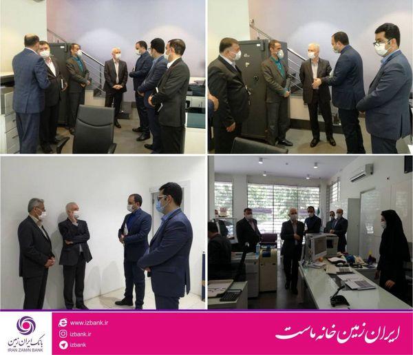 حفظ سلامت مشتریان و کارکنان اولویت اول بانک ایران زمین است