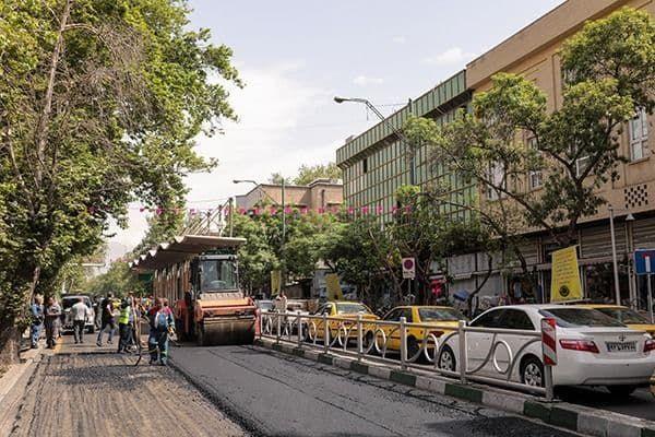 تولید 645 هزار تن آسفالت در کارخانجات سازمان مهندسی و عمران شهر تهران