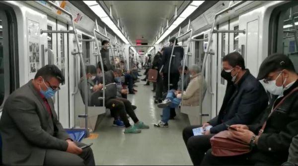 بهبود وضعیت سیستم تهویه قطارهای متروی تهران و حومه