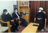 دیدار مدیرکل کمیته امداد استان قم با امام جمعه سلفچگان