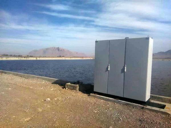 نصب سه دستگاه تابلو برق در تصفیه خانه فاضلاب شهرضا