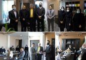 معارفه سرپرست شعبه خرم آباد و جلسه ارزیابی عملکرد در بیمه آرمان