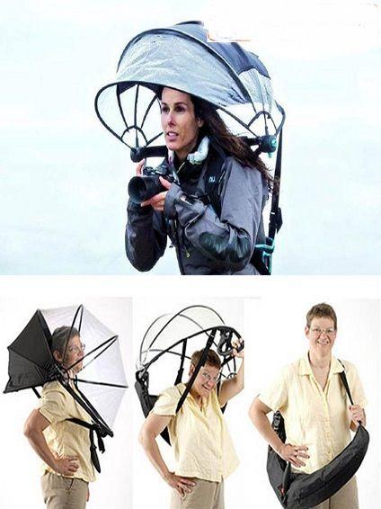 تولید جدیدترین نوع چترهای زمستانی+عکس