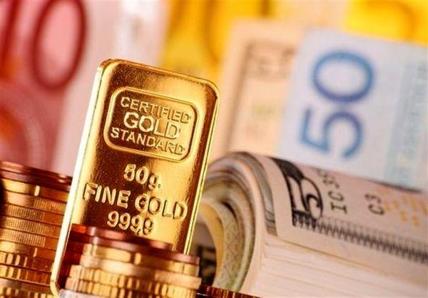 طلا،سکه و ارز روی مدار صعودی