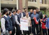 ایجاد لاین ویژه تردد خودروهای امدادی در معابر منطقه سه