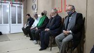 دیدار قائم مقام تولیت مسجد مقدس جمکران با خانواده شهیدان کارکوب زاده