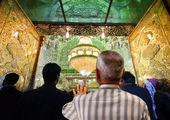 نمایش ساخت صحن حضرت زهرا (س) به دست استادکاران ایرانی در نجف اشرف