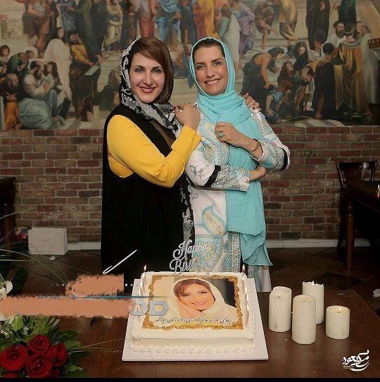 فریبا کوثری در جشن تولد لاکچری فاطمه گودرزی+عکس