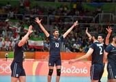 سقوط یک پلهای ایران در رنکینگ جهانی والیبال