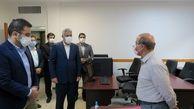 بازدید دکترشیری از جلسه مصاحبه پذیرفته شدگان تهرانی آزمون استخدامی پست بانک ایران