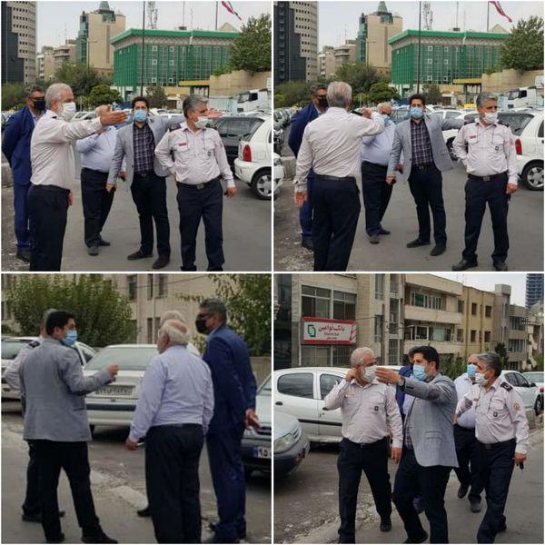 یک ایستگاه جدید آتش نشانی در قلب تهران احداث می شود
