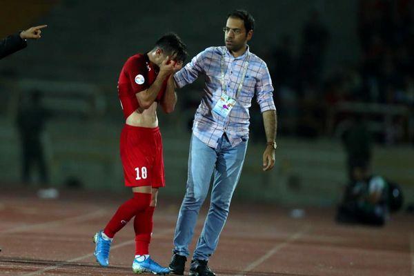 جریمه سنگین باشگاه پرسپولیس برای فرشاد احمدزاده