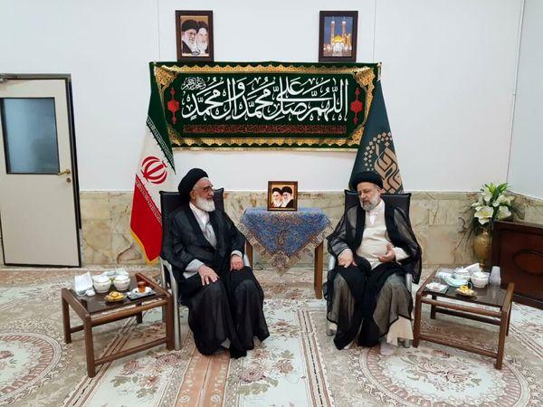 رئیس جمهور منتخب با آیتالله سعیدی دیدار کرد