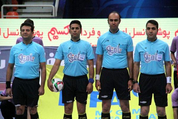 اعلام داوران مرحله نیمه نهایی لیگ برتر فوتسال