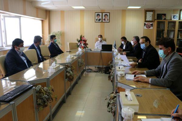 بازدید مدیرعامل شرکت توزیع برق استان از مخابرات منطقه مرکزی