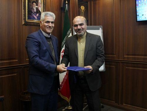 معارفه رئیس جدید روابط عمومی پست بانک ایران
